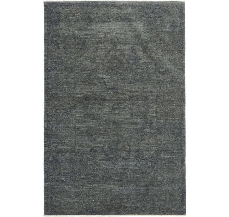 3' 11 x 6' 1 Over-Dyed Ziegler Rug
