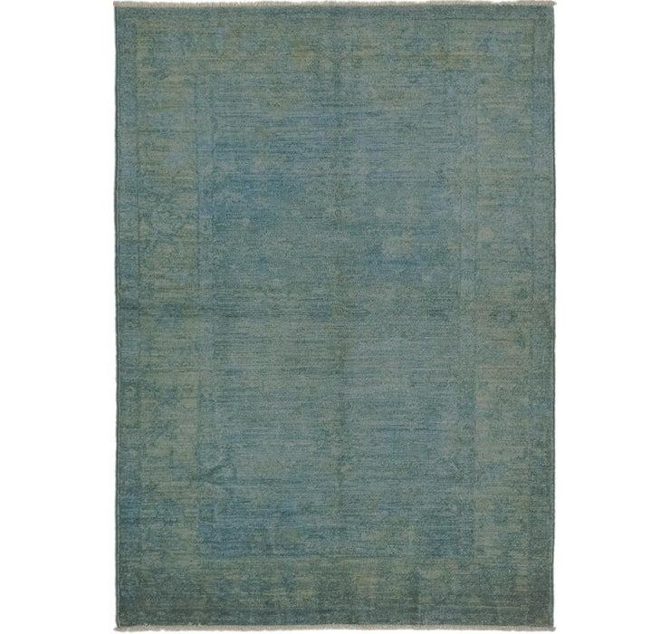 110cm x 157cm Over-Dyed Ziegler Rug