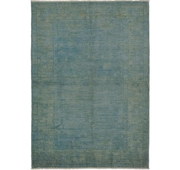 3' 7 x 5' 2 Over-Dyed Ziegler Rug main image