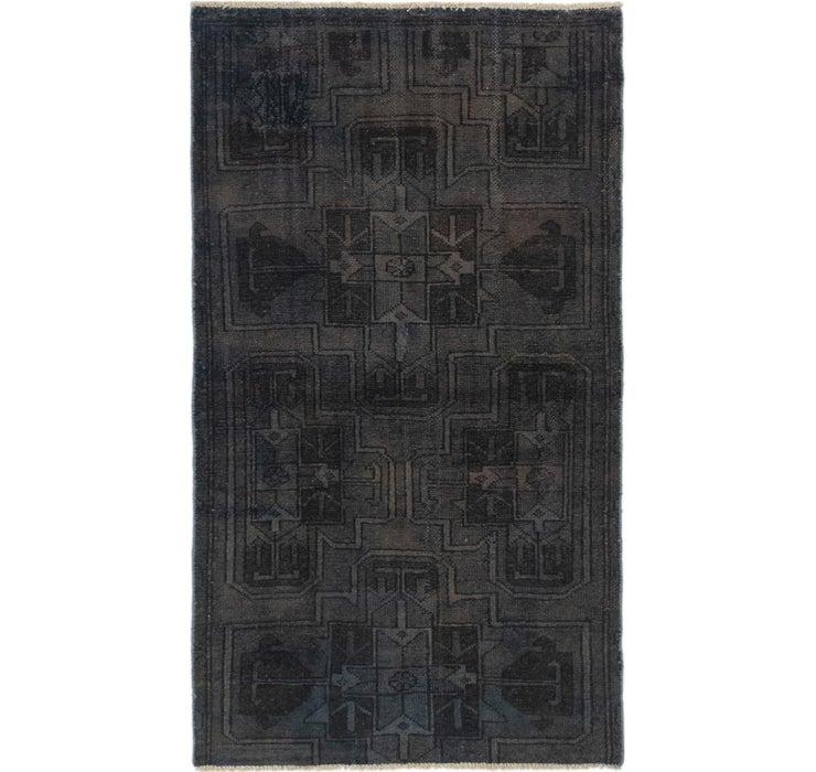 85cm x 155cm Ultra Vintage Persian Rug