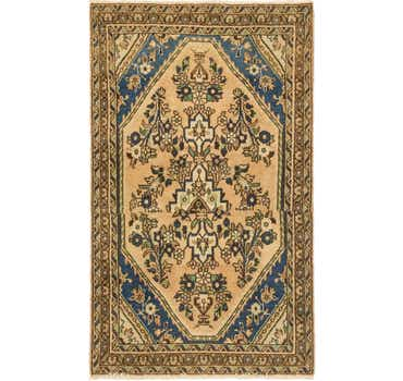 Image of 3' 6 x 5' 10 Ultra Vintage Persian Rug