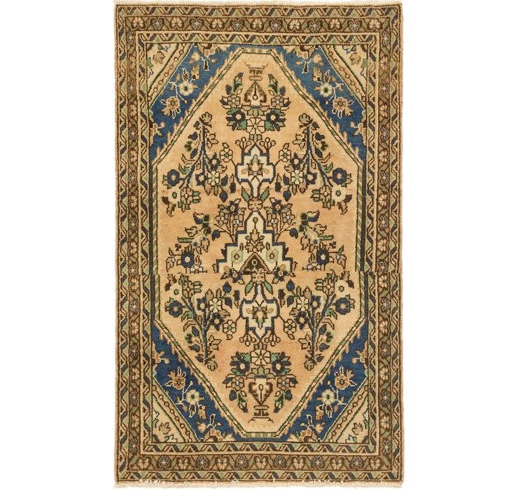 3' 6 x 5' 10 Ultra Vintage Persian Rug