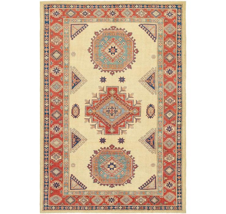 6' 2 x 9' 3 Kazak Oriental Rug