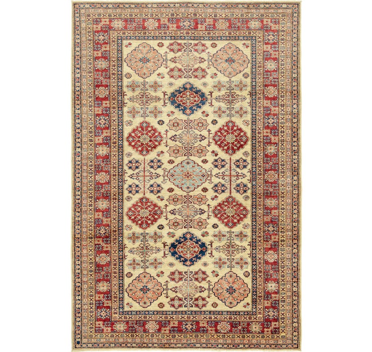 6' 7 x 9' 10 Kazak Oriental Rug
