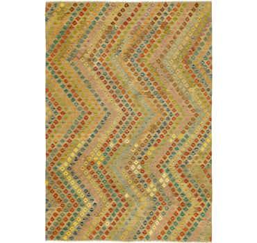 Image of 8' 3 x 11' 6 Kilim Maymana Rug