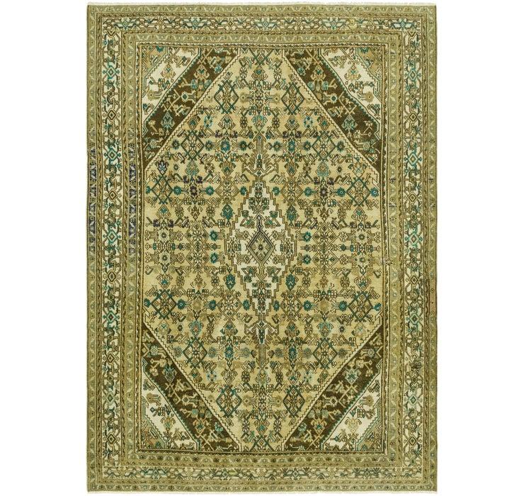 8' 1 x 11' 4 Ultra Vintage Persian Rug