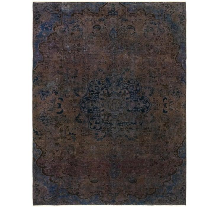 6' 7 x 9' Ultra Vintage Persian Rug