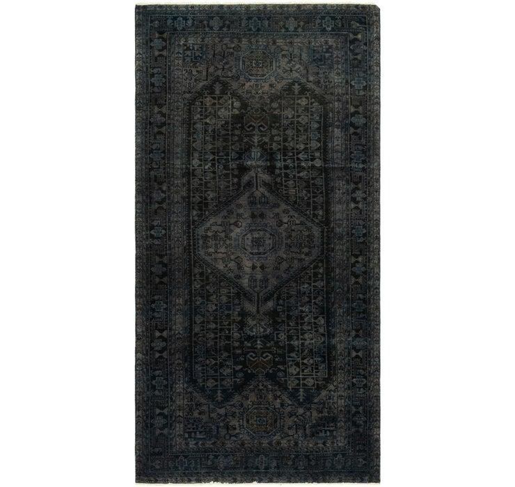 5' 2 x 10' 9 Ultra Vintage Persian R...