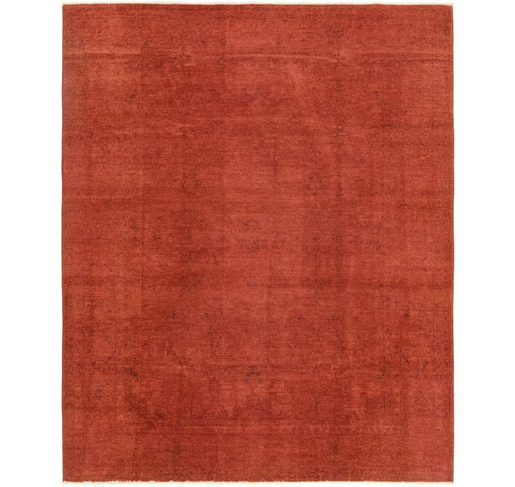 6' 7 x 8' 2 Over-Dyed Ziegler Rug