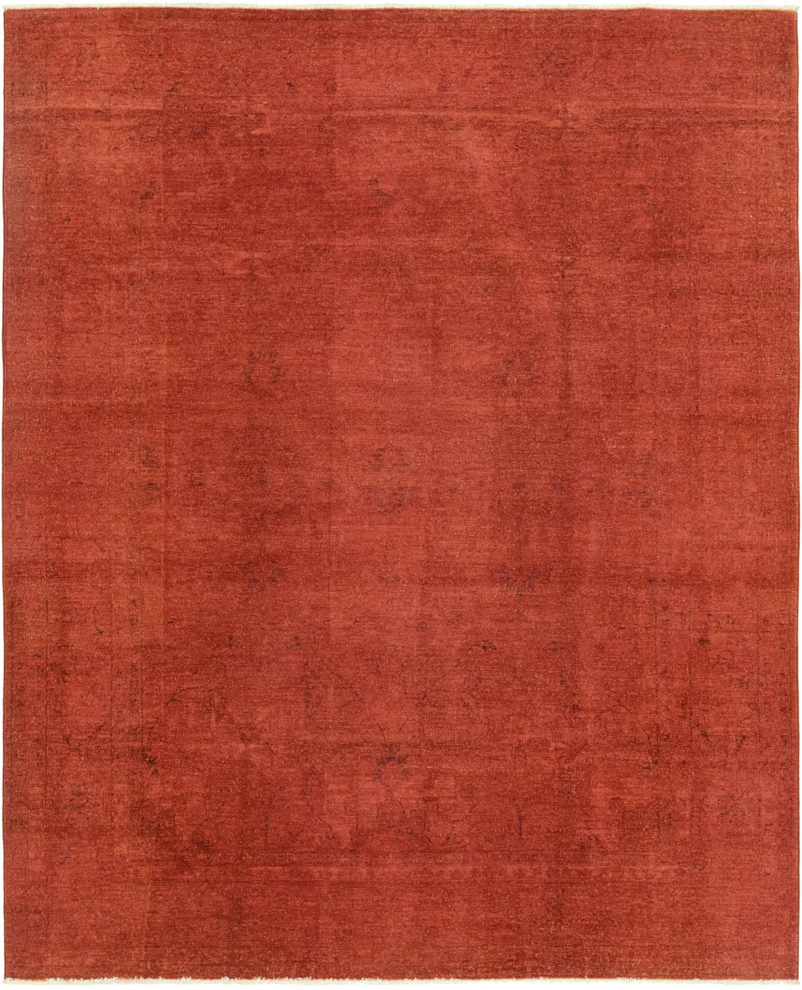 6' 7 x 8' 2 Over-Dyed Ziegler Rug main image