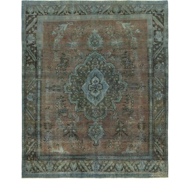 9' 4 x 11' 2 Ultra Vintage Persian Rug