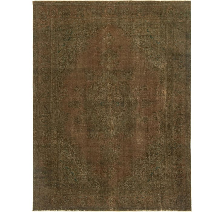 292cm x 390cm Ultra Vintage Persian Rug