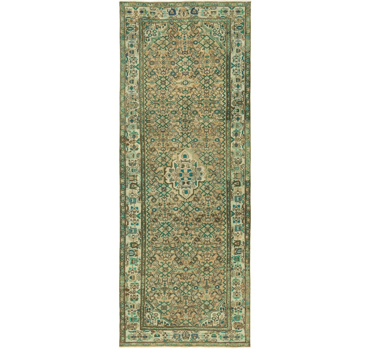4' 9 x 13' Ultra Vintage Persian R...