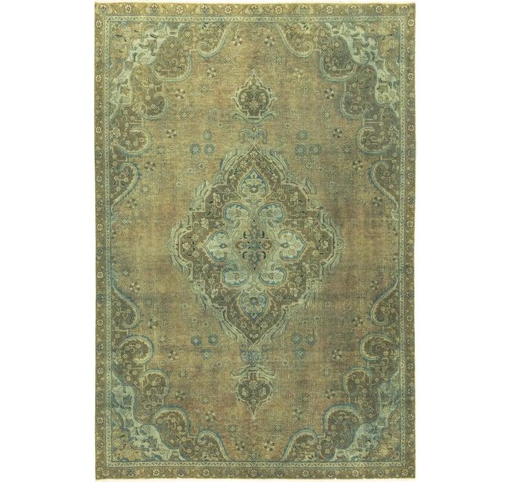 7' 3 x 10' 7 Ultra Vintage Persian Rug