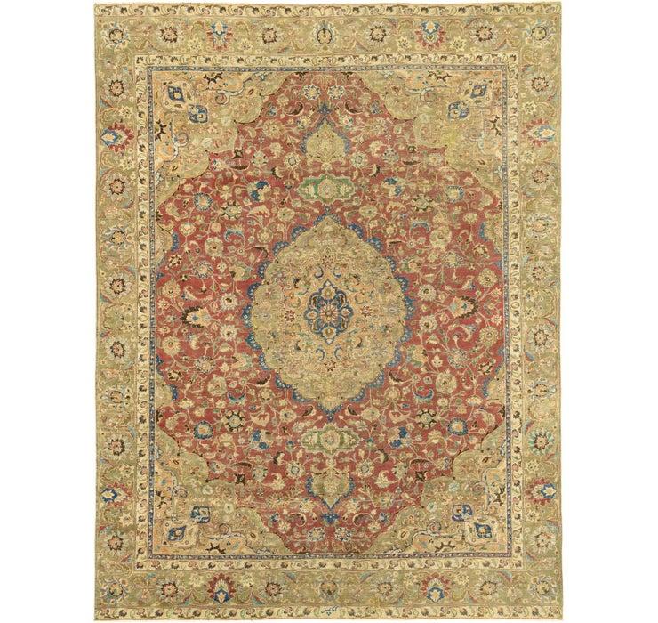 9' x 12' Ultra Vintage Persian Rug
