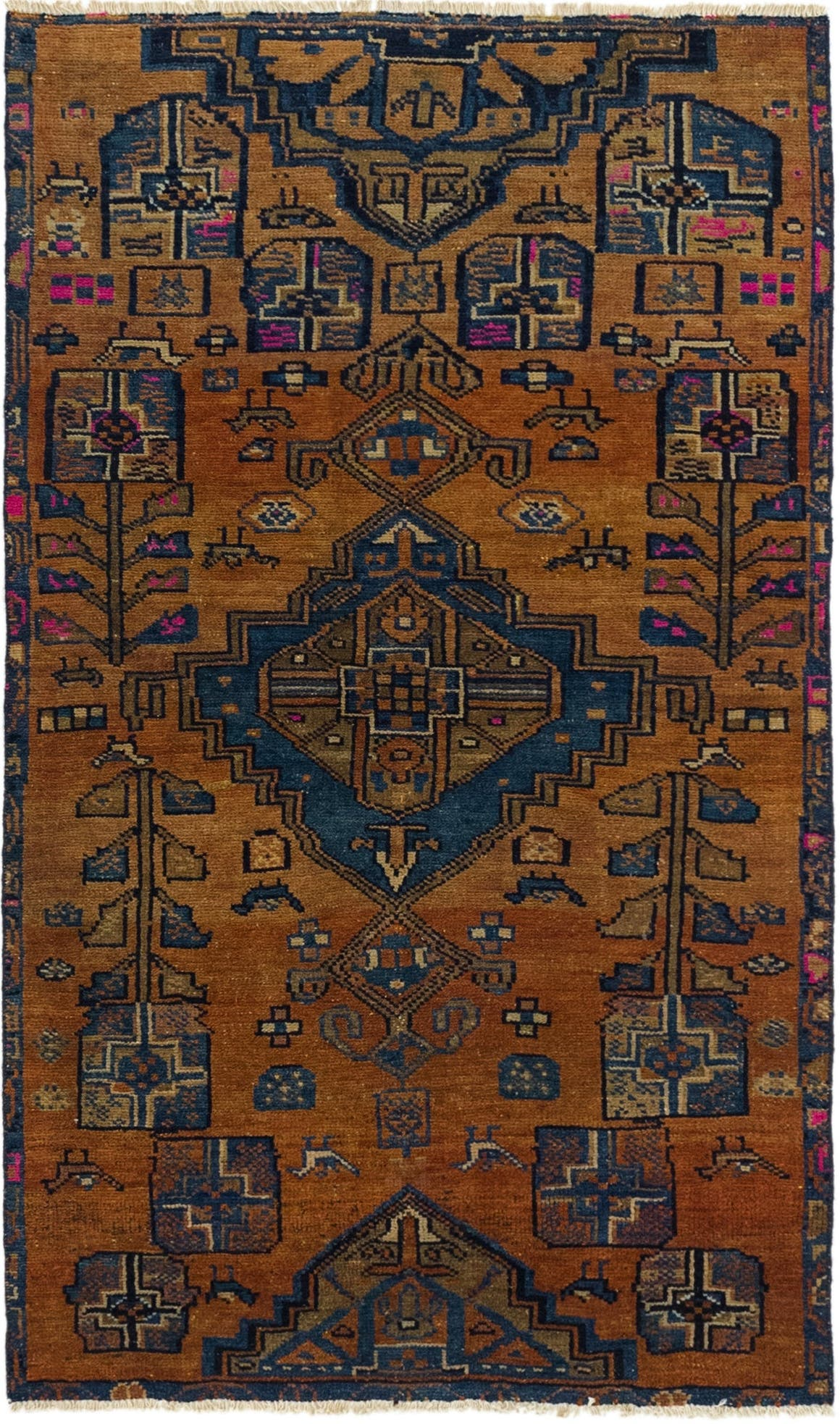 3' 4 x 5' 7 Ultra Vintage Persian Rug main image