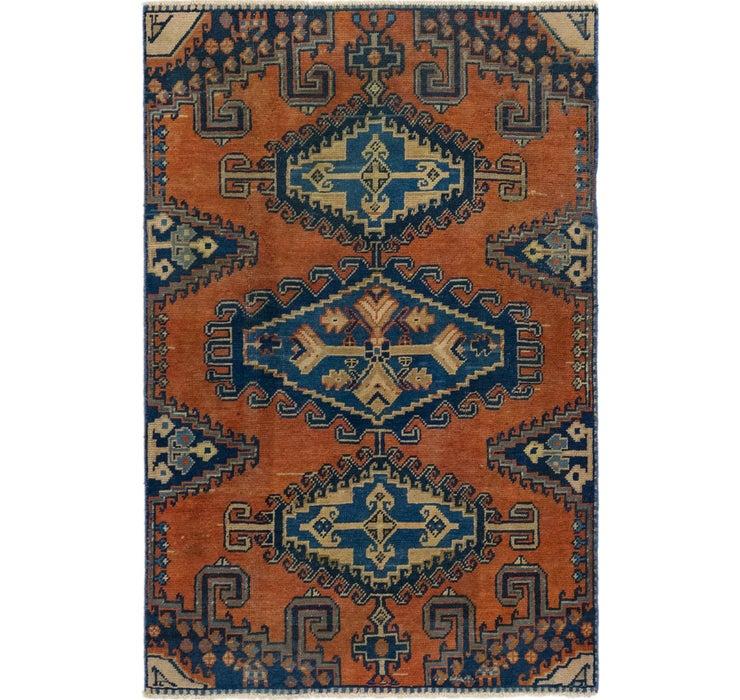 3' 4 x 5' 2 Ultra Vintage Persian Rug