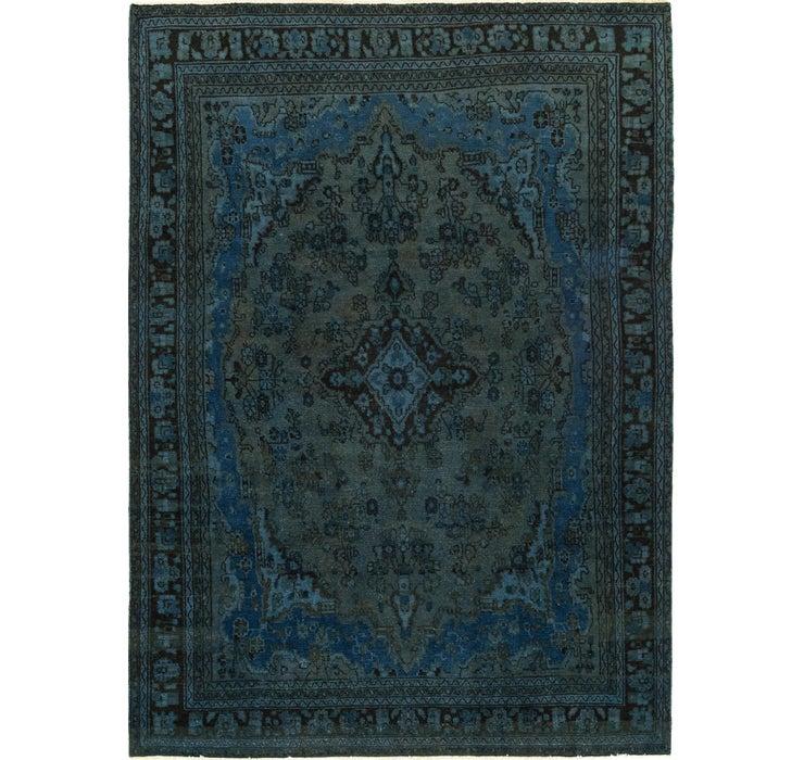 6' 10 x 9' 7 Ultra Vintage Persian Rug