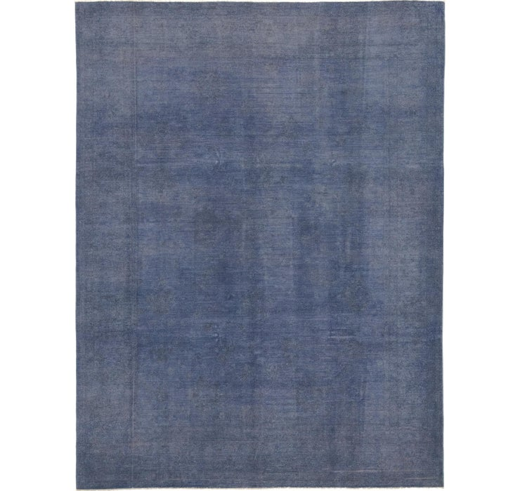 8' 9 x 11' 6 Over-Dyed Ziegler Rug