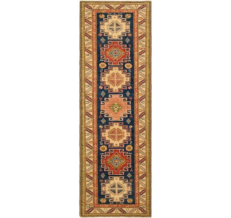 2' 8 x 8' 3 Kazak Oriental Runner Rug