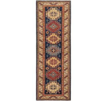 2' 10 x 8' 4 Kazak Oriental Runner Rug