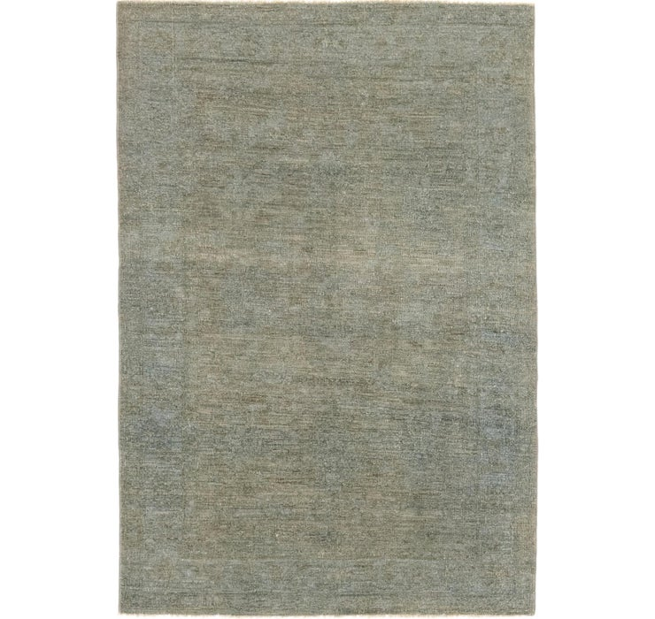 3' 10 x 5' 6 Over-Dyed Ziegler Rug