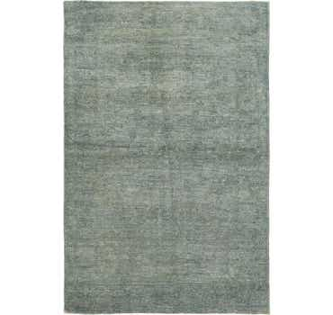 4' x 5' 10 Over-Dyed Ziegler Rug