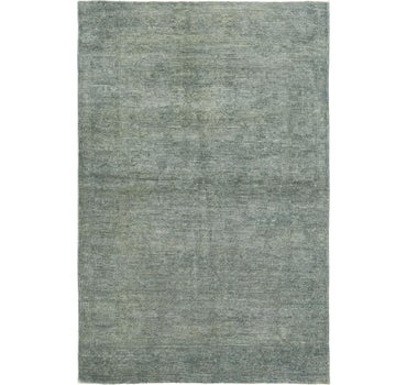 4' x 5' 10 Over-Dyed Ziegler Rug main image