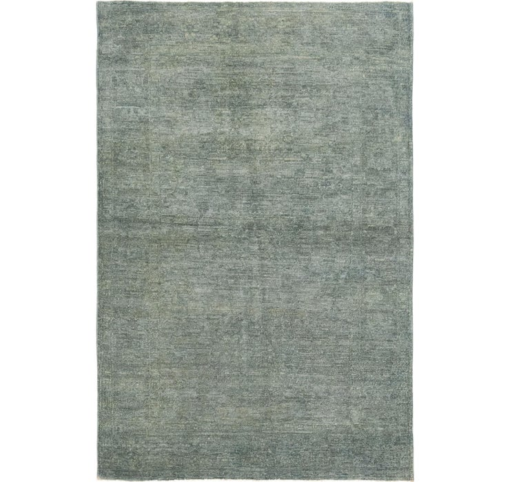 Image of 4' x 5' 10 Over-Dyed Ziegler Rug