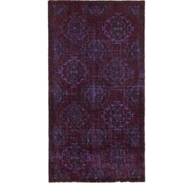 3' x 5' 8 Ultra Vintage Persian Rug