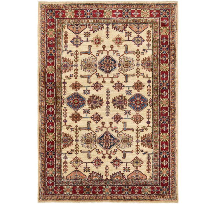 4' 1 x 5' 9 Kazak Oriental Rug