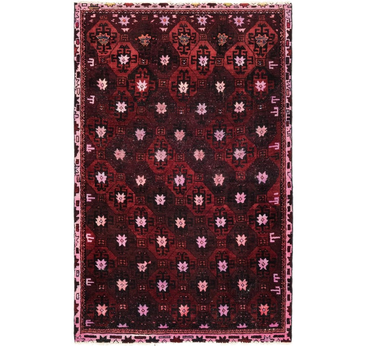 3' 9 x 5' 10 Ultra Vintage Persian Rug