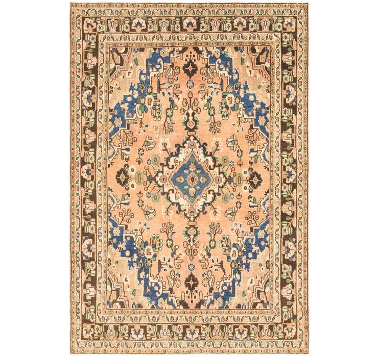 6' 9 x 10' Ultra Vintage Persian Rug
