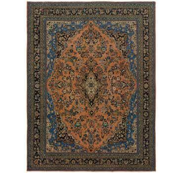 Image of 10' 5 x 14' Shahrabad Persian Rug