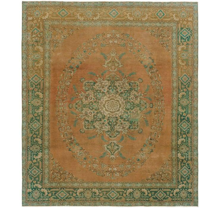 10' x 12' 10 Ultra Vintage Persian Rug