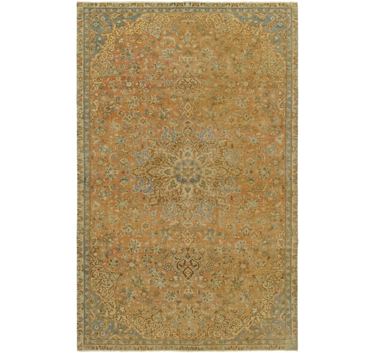6' 8 x 10' 6 Ultra Vintage Persian Rug