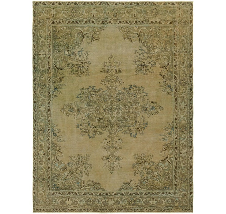 9' 7 x 12' 9 Ultra Vintage Persian Rug