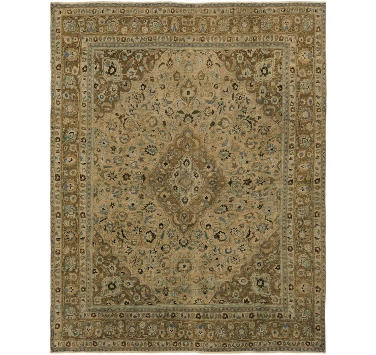 305cm x 385cm Ultra Vintage Persian Rug