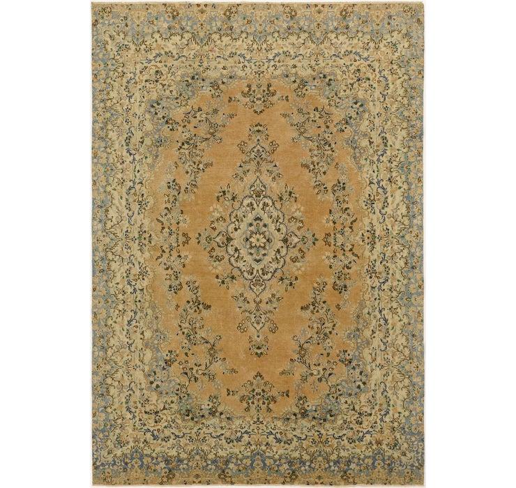 235cm x 353cm Ultra Vintage Persian Rug