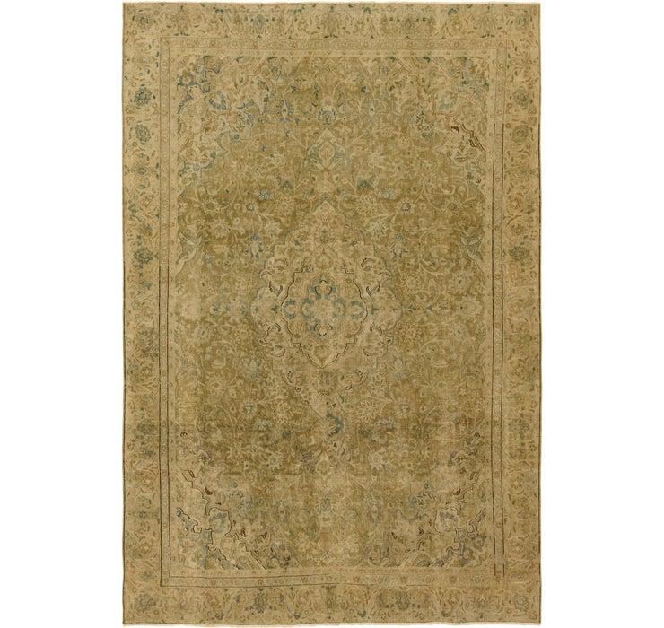 8' 6 x 12' 8 Ultra Vintage Persian Rug