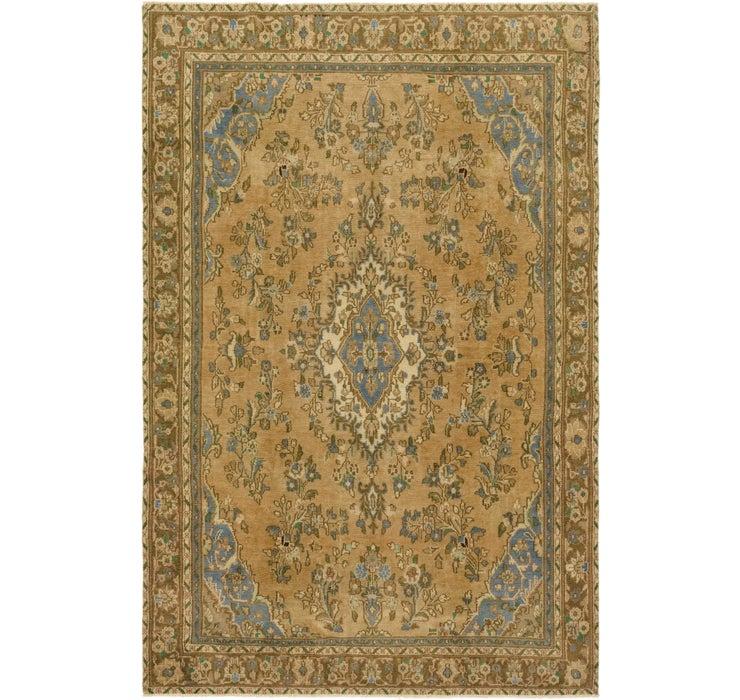 6' 7 x 10' 1 Ultra Vintage Persian Rug