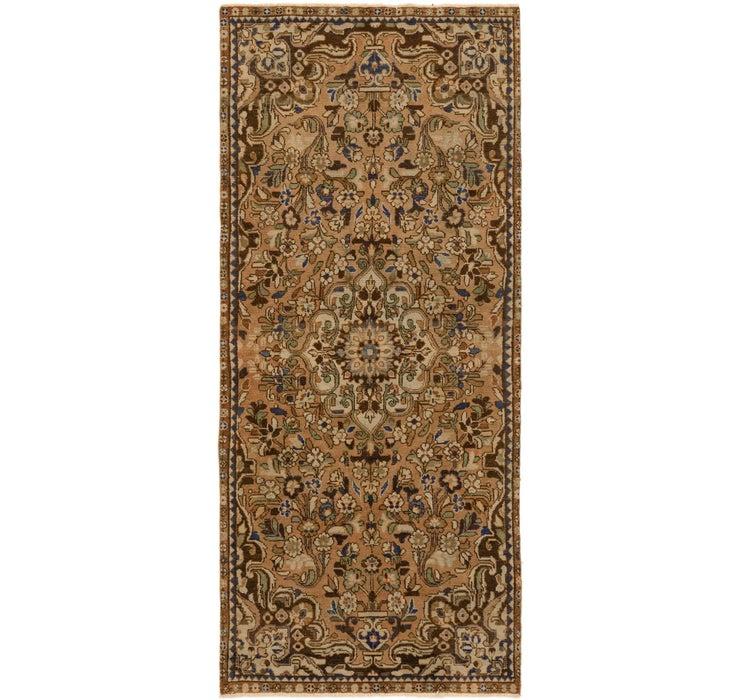 4' 1 x 9' 4 Ultra Vintage Persian R...