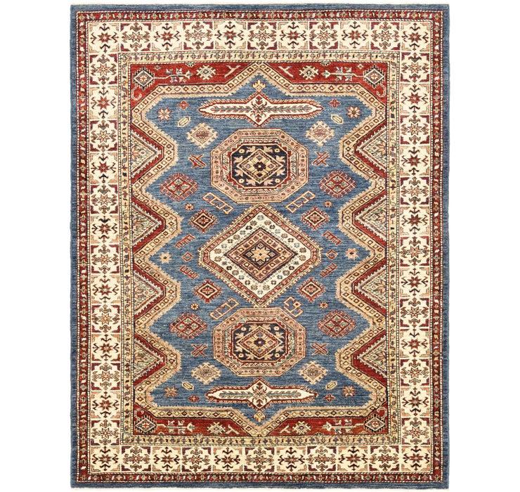 5' 1 x 6' 7 Kazak Oriental Square Rug