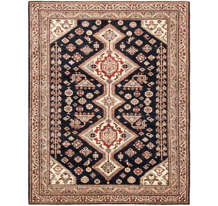 5' x 6' 4 Kazak Oriental Square Rug