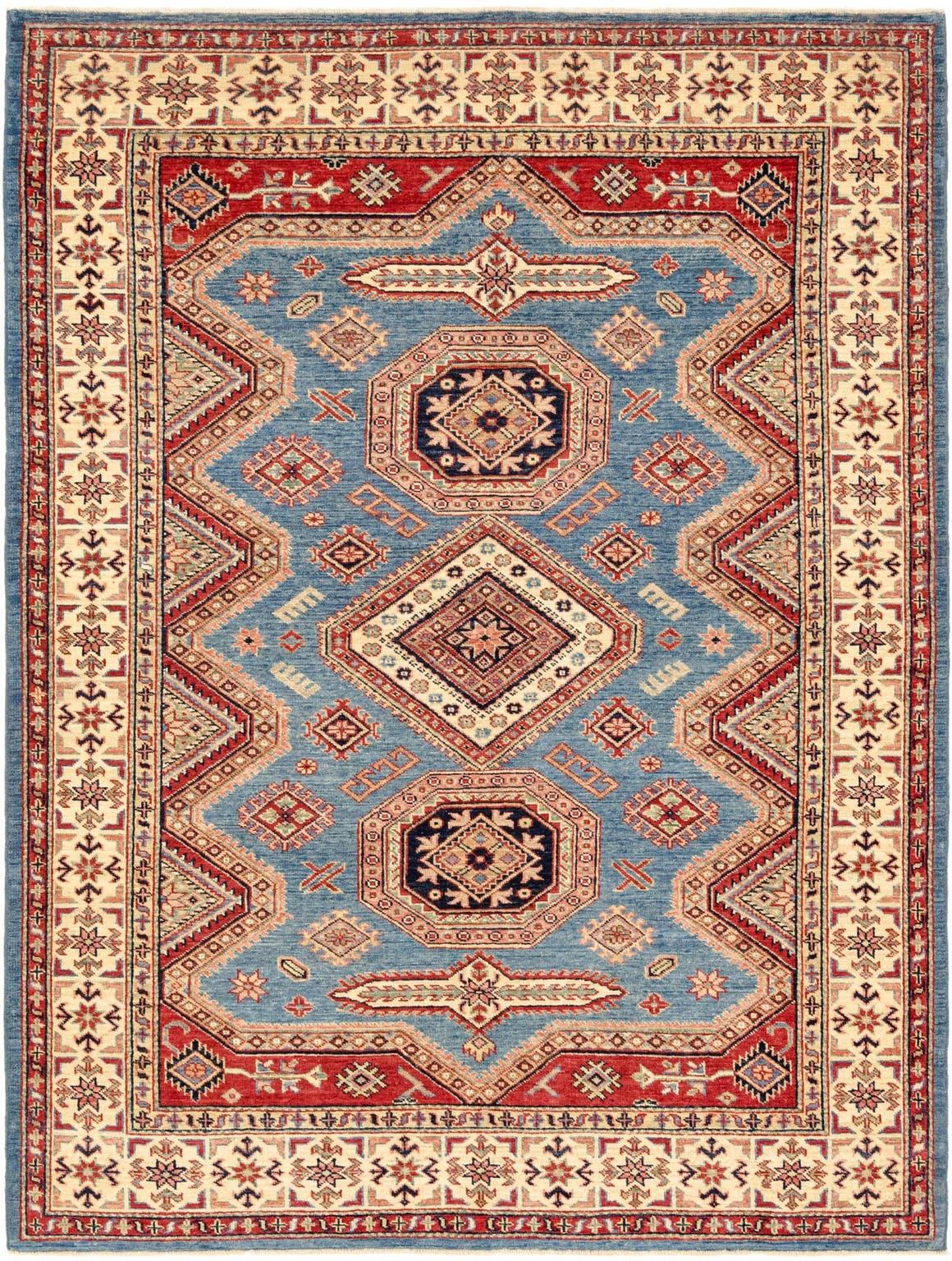 5' x 7' Kazak Oriental Rug main image