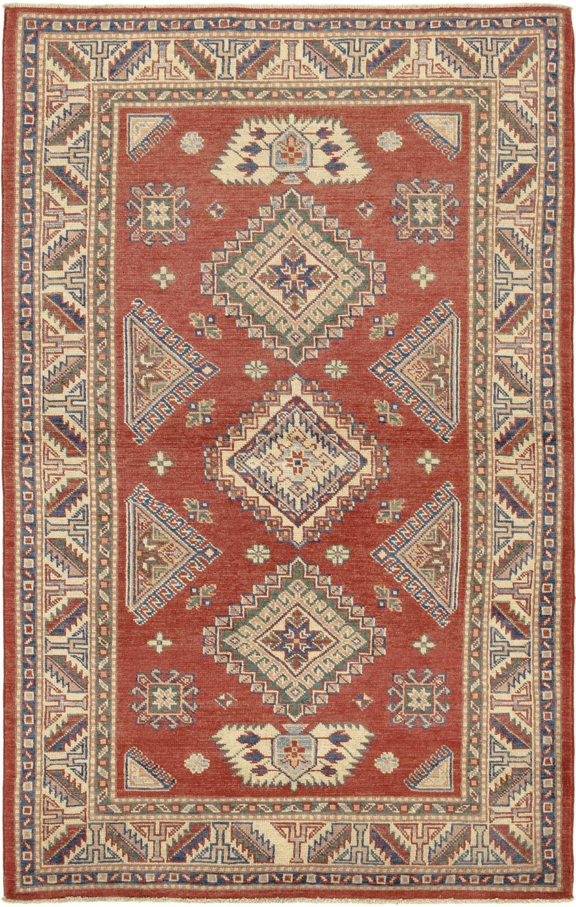 4' x 6' 6 Kazak Rug main image