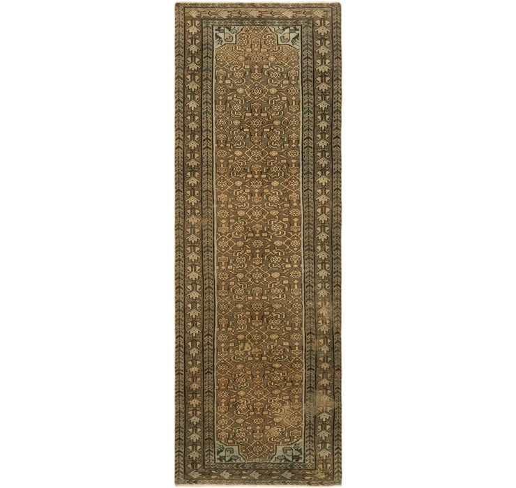 3' 4 x 10' 1 Ultra Vintage Persian R...