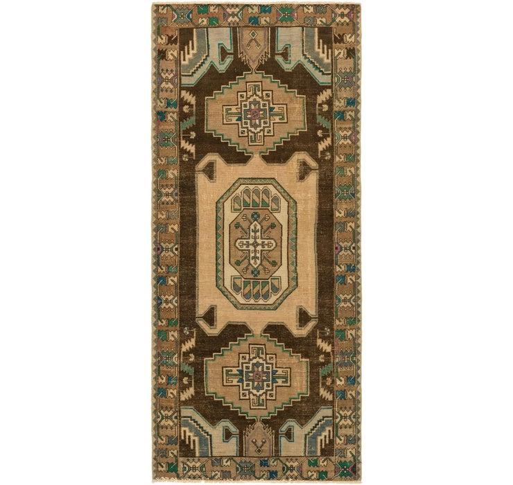 125cm x 292cm Ultra Vintage Persian R...