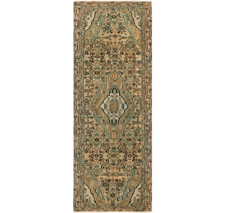 3' 6 x 10' 2 Ultra Vintage Persian R...