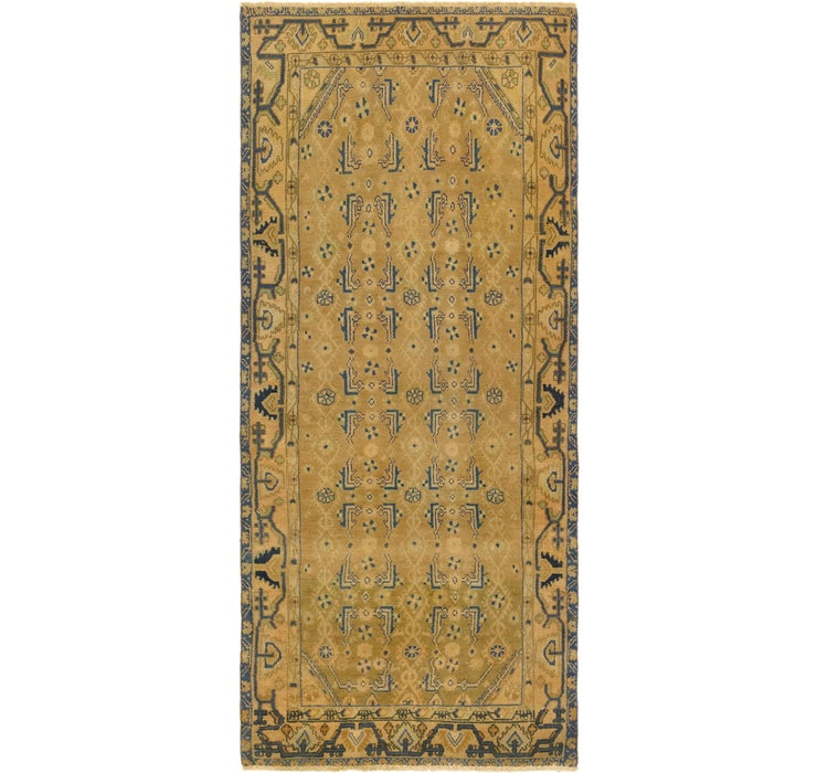 3' 8 x 8' 10 Ultra Vintage Persian R...